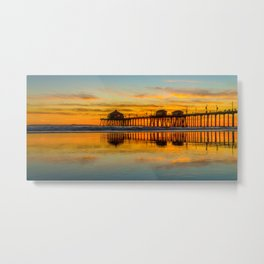 Ruby's Reflections Metal Print