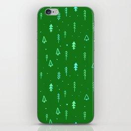Christmas Tree Pattern iPhone Skin