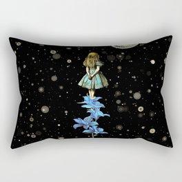 Wonderland Sky Viewing Time - Alice In Wonderland Rectangular Pillow