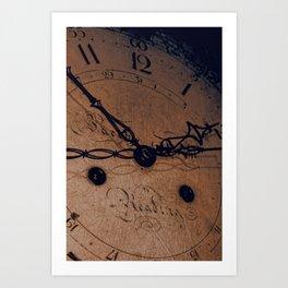 Tick-Tock Art Print