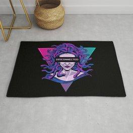 Medusa Statue Anti-Social Aesthetic Art Gift Rug