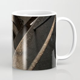 The world needs more spiral staircases. Abandoned power station. Coffee Mug