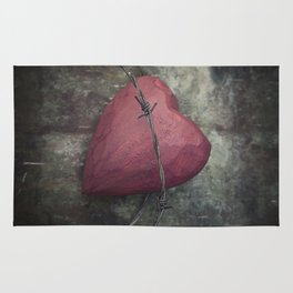 Trapped Heart III Rug