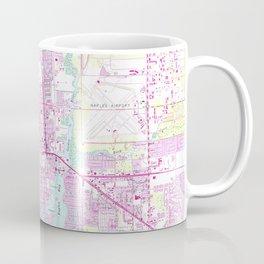 Vintage Map of Naples Florida (1958) Coffee Mug