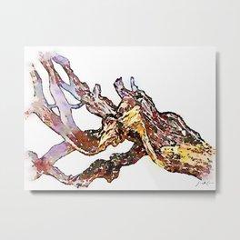 Tivoli: tree trunks Metal Print