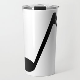 Sixteenth Of A Whole Musical Note Isolated Travel Mug