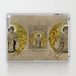 The Raven. 1884 edition cover Laptop & iPad Skin