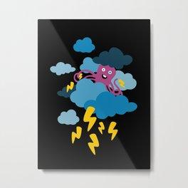 Who Makes the Thunder? Metal Print