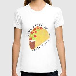 Tacos Humor Life Quotes T-shirt