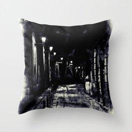 Barcelona, Streets Throw Pillow