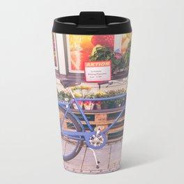 Market Bicycle Metal Travel Mug