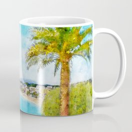 The Promenade, Nice, France, by Jennifer Berdy Coffee Mug