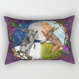 Ostara's Dance Rectangular Pillow