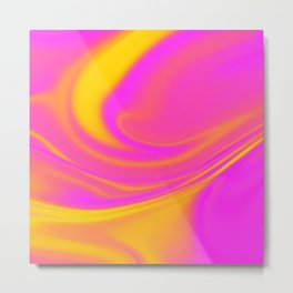 Abstract Fluid 5 Metal Print