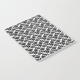 Black + White Brushwork Notebook
