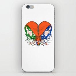 Clementine's Heart iPhone Skin