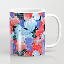 Beautiful vector illustration pattern of colorful abstract Coffee Mug