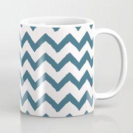 Chevron Teal Coffee Mug