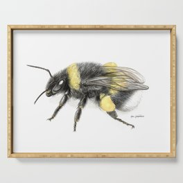 White-tailed bumblebee Serving Tray