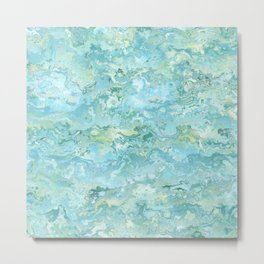 Texture nature garmonia sea 7 Metal Print