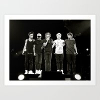 one direction Art Prints featuring One Direction by bminorphotography