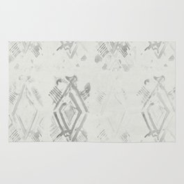 Simply Ikat Ink in Lunar Gray Rug