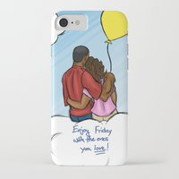 friday iPhone & iPod Cases featuring FRIDAY by RM2 Designs