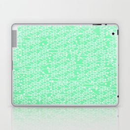 Microchip Pattern (Mint) Laptop & iPad Skin