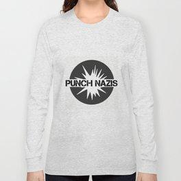 punch nazis Long Sleeve T-shirt
