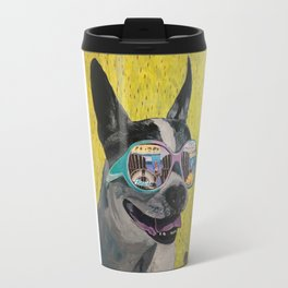 Frosty Face Friday with Gracie Gabriella at the Beach Travel Mug