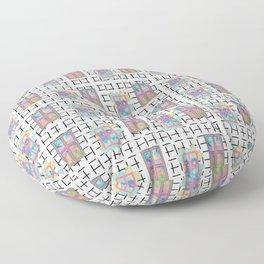 Window Gazing Floor Pillow
