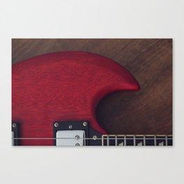 Devil's Horn Canvas Print