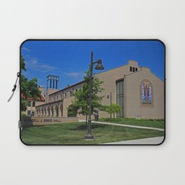Lourdes University-  Russel J Ebeid Hall with the Peace Prayer Attributed to St Francis Laptop Sleeve