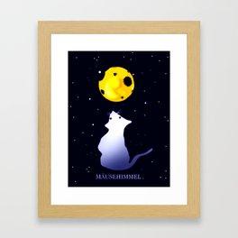 Mäusehimmel. Framed Art Print