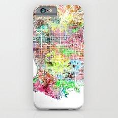 Los Angeles map california iPhone 6s Slim Case