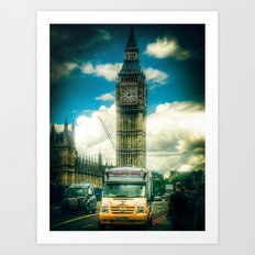 Piccadilly Whip Art Print