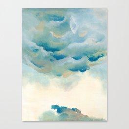 Cloudy night Canvas Print