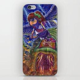 Kid Icarus Pit vs Medusa NES Nintendo iPhone Skin
