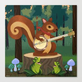 The Nutport Croak Music Festival Canvas Print
