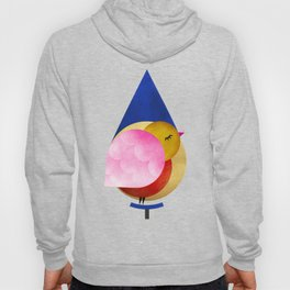 048 birdie kisses the sweet morning raindrop pattern Hoody