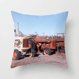 American Traction Throw Pillow