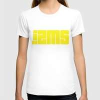 lettering T-shirts featuring Izms lettering by Izms of Art