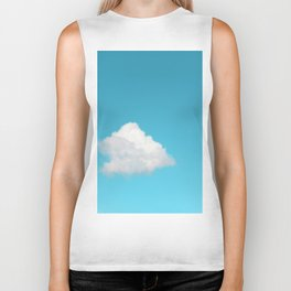 Happy Cloud Biker Tank