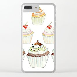 Have a Cupcake! Clear iPhone Case
