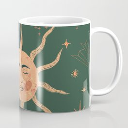 magic moon and sun Coffee Mug