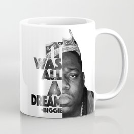 Urban Biggie Smalls Lyrics/Text Font Coffee Mug