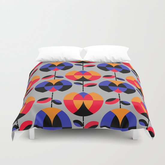 HappyGarden Duvet Cover