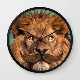 BEARDED LION Wall Clock