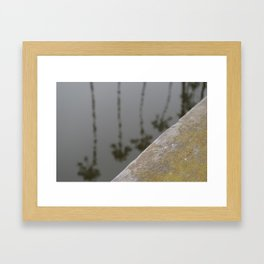 Santa Barbara Palm Trees  Framed Art Print