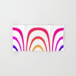 Cheerful lines Hand & Bath Towel